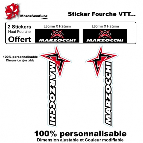 Sticker Fourche Vélo Grand Marzocchi VTT