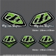Pochette Sticker Troy lee Designs Vert