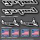 Pochette Sticker Made in USA Go-Ped
