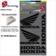 Pochette Sticker HONDA