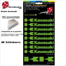 PLanche Sticker Kawasaki