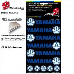 Planche Sticker Yamaha