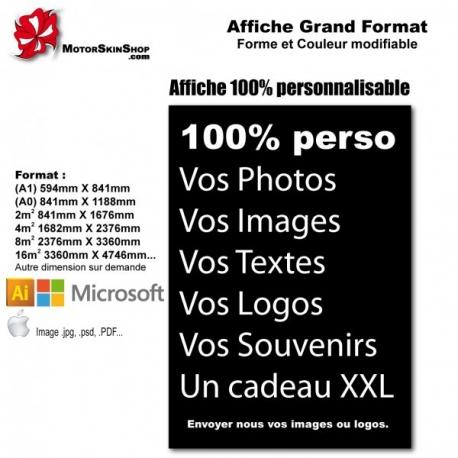 Imprimer vos fichiers en grand format