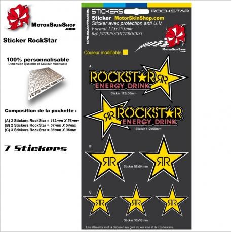 Pochette Sticker RockStar