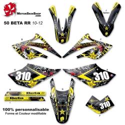 Kit déco 50 Beta RR 10-12 étoile 50CC à boite Perso