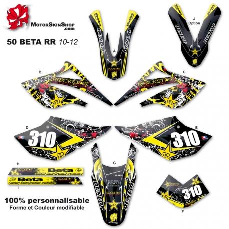Kit déco 50 Beta RR 10-12