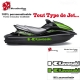 Sticker coque Jet Ski Kawasaki