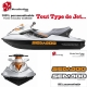 Sticker Seadoo coque Jet Ski