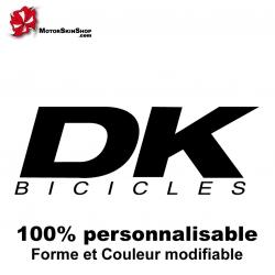 Sticker DK BMX