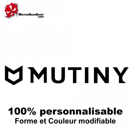 Sticker vélo Mutiny BMX