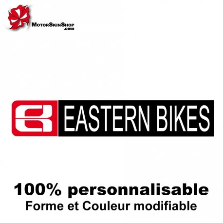 Sticker vélo Eastern Bikes BMX