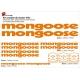 Sticker cadre BMX Mongoose Bikes