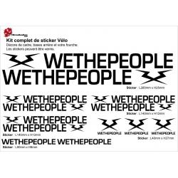 Sticker cadre BMX Wethepeople