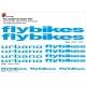 Sticker cadre BMX Flybikes