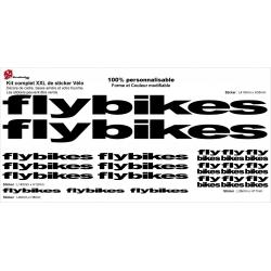 Sticker cadre Flybikes BMX Taille XXl