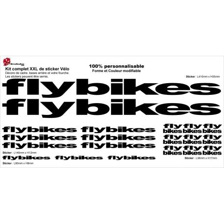 Sticker Kit cadre BMX Flybikes Taille XXl