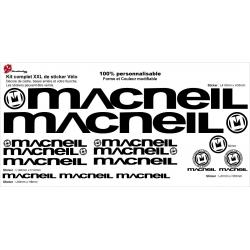Sticker cadre Macneil BMX Taille XXl
