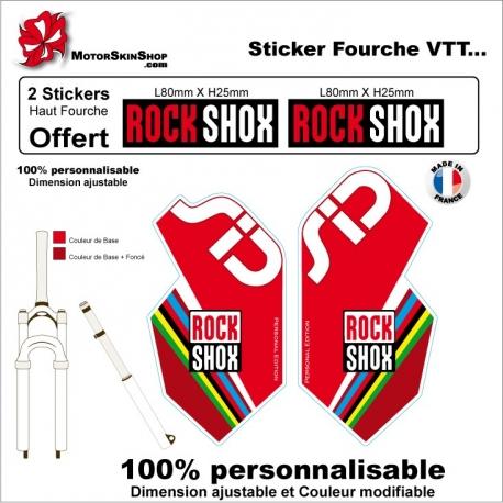 Sticker fourche Sid Champion du monde