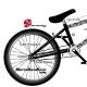 Sticker cadre Vélo BMX Tribal Sticker complet