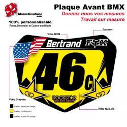 Sticker plaque BMX