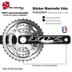 Sticker Manivelle Vélo Fox