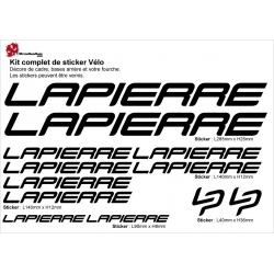 Sticker Lapierre Cadre Vélo