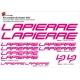 Sticker cadre vélo Kit Lapierre