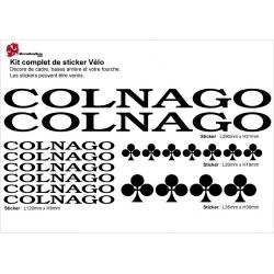 Sticker cadre vélo Colnago