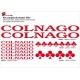 Sticker cadre vélo new Colnago