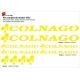 Sticker cadre vélo Kit Colnago