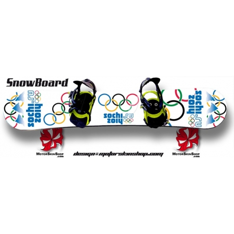 JO Sochi 2014 SnowBoard Personnalisable