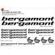 Sticker cadre Bergamont