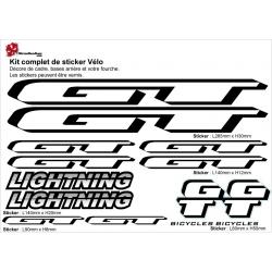Sticker cadre GT Lightning