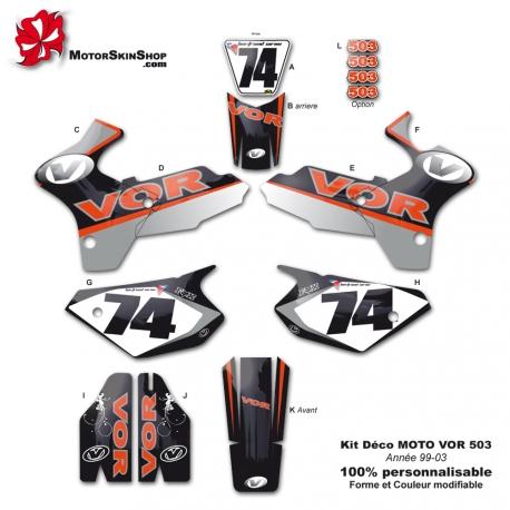 Kit Deco Moto VOR 503