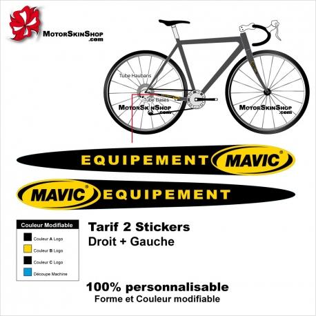 Sticker Mavic Equipement