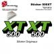 Sticker 500XT Moto Yamaha