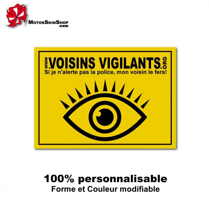 Sticker voisins vigilants - Ou acheter des stickers ...