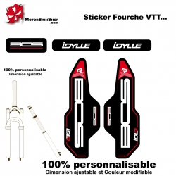 Sticker fourche BOS Idylle