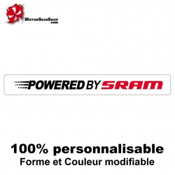 Sticker Powored by Sram