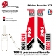 Sticker fourche Pike Rock Shox Rouge 2013