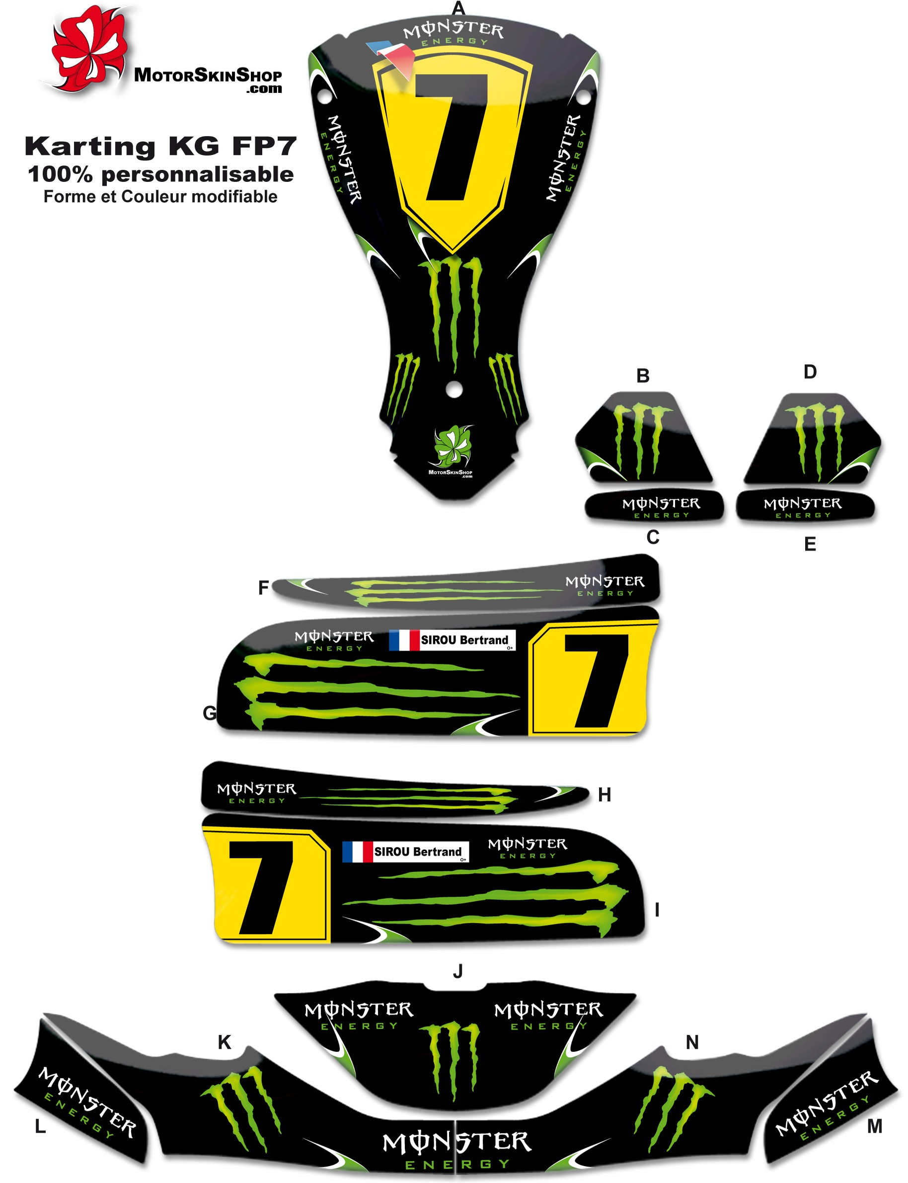 kit deco kart kart sticker kits images