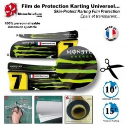 Film de Protection Karting Universel kit déco