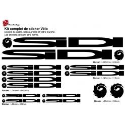 Sticker cadre Sidi Vélo