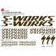 Sticker cadre S Works Specialized