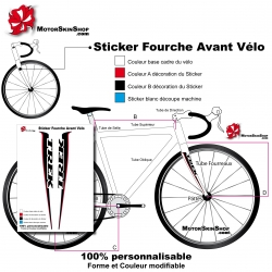 Sticker fourche Trek Couleur