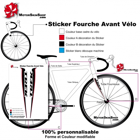 stickers pour velo route. Black Bedroom Furniture Sets. Home Design Ideas
