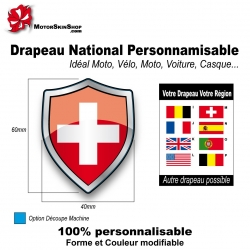 Sticker Drapeau national Suisse