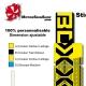 Sticker fourche Neon Boxxer Jaune 2012 Factory