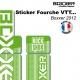 Sticker fourche Neon Boxxer Vert 2012