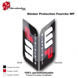Sticker Fourche WP Moto